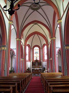 Pfarrkirche Heiligstes Herz Jesu (Hillesheim-Niederbettingen) Innenansicht