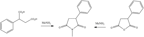 Phensuximide synthesis.png