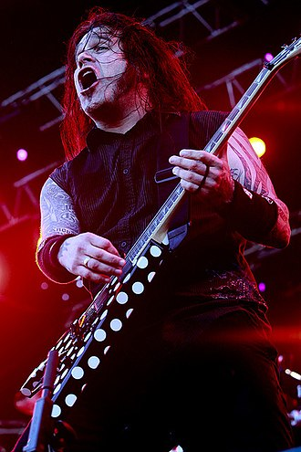 Machine Head (band) - Guitarist Phil Demmel performing with Machine Head in 2009.