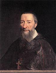 Portret van bisschop Jean-Pierre Camus