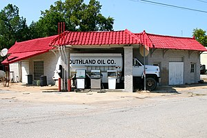 Swifton, Arkansas - This Phillips 66 station in Swifton is listed on the National Register of Historic Places