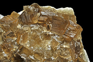 Phlogopite true mica, phyllosilicate mineral
