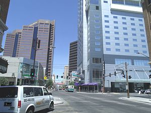 Central Avenue Corridor - The Downtown Central Avenue in Phoenix.
