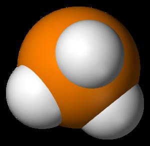 Phosphine - Image: Phosphine underside 3D vd W