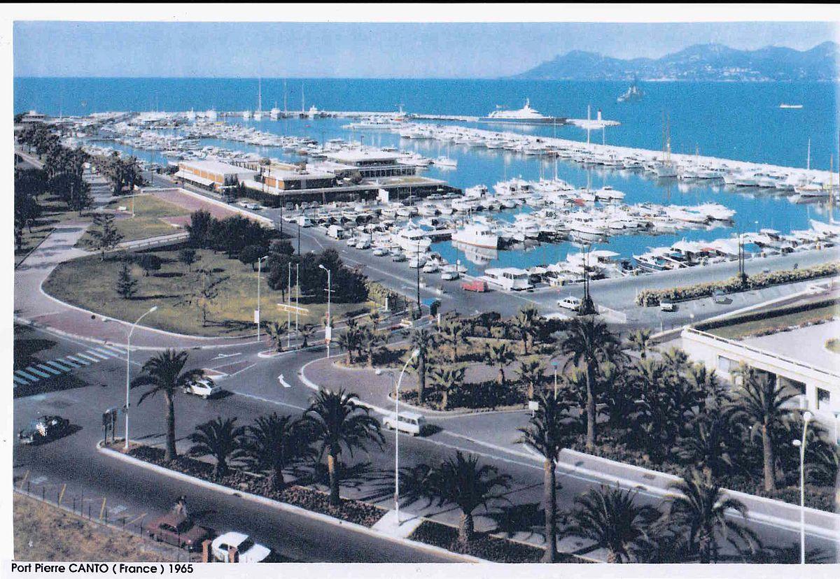 Port pierre canto wikip dia - Port de cannes capitainerie ...