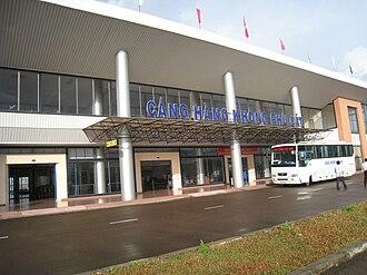 Phu Cat Airport - Image: Phucatairport 1