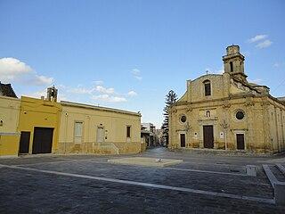 Squinzano Comune in Apulia, Italy