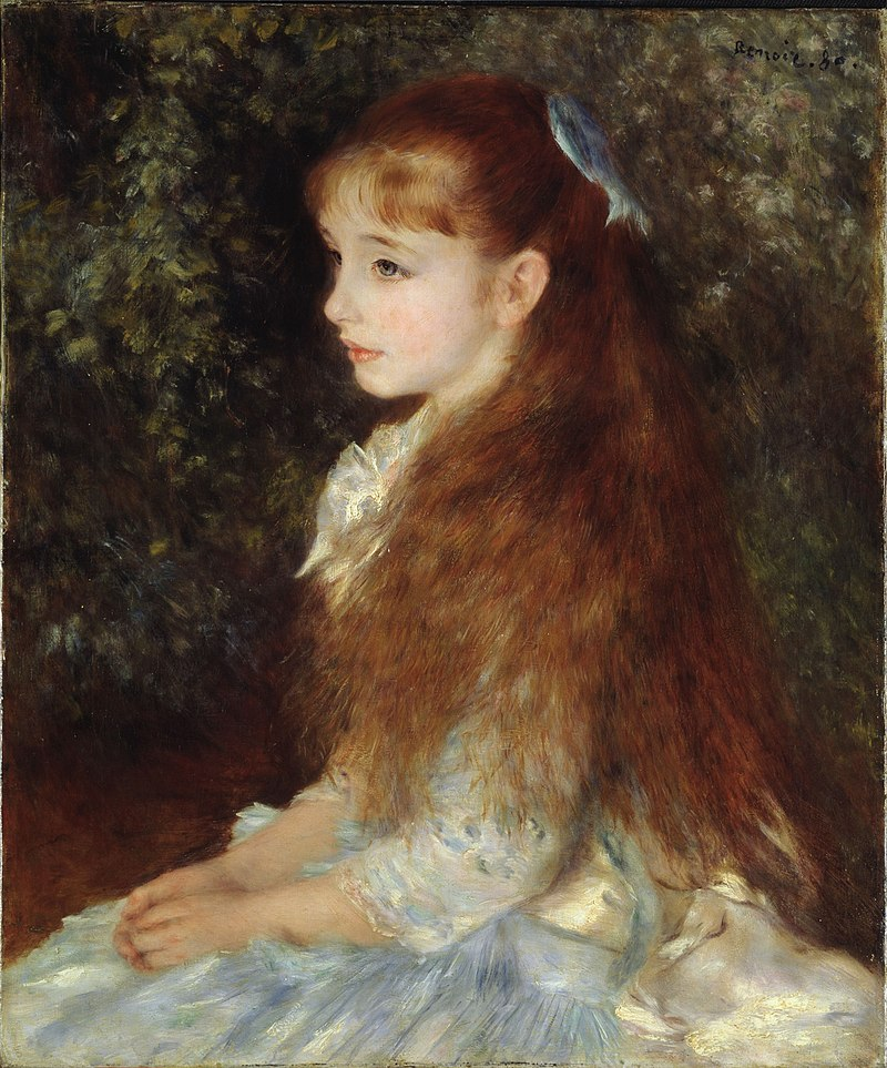 Pierre-Auguste Renoir, 1880, Portrait of Mademoiselle Irène Cahen d'Anvers, Sammlung E.G. Bührle.jpg