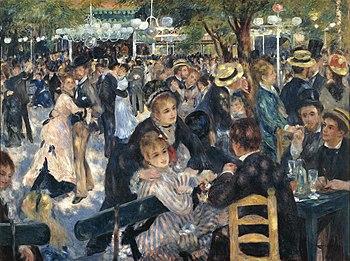 Pierre-Auguste Renoir%2C Le Moulin de la Galette