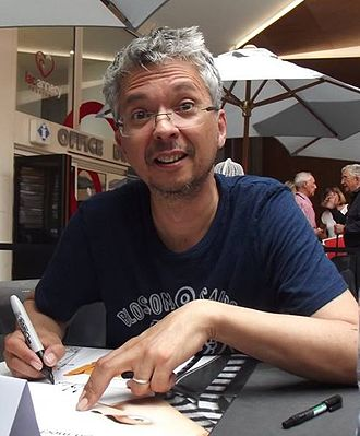 Pierre Coffin - Coffin at the 2017 Annecy International Animated Film Festival