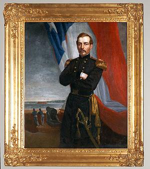 P. G. T. Beauregard - The 1861 George Peter Alexander Healy portrait of Beauregard in the National Portrait Gallery in Washington, D.C..
