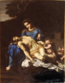 Pierre Mignard, Pietà after Annibale Carracci.png
