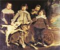 Pieter Soutman - Group of four children - 1641.jpg