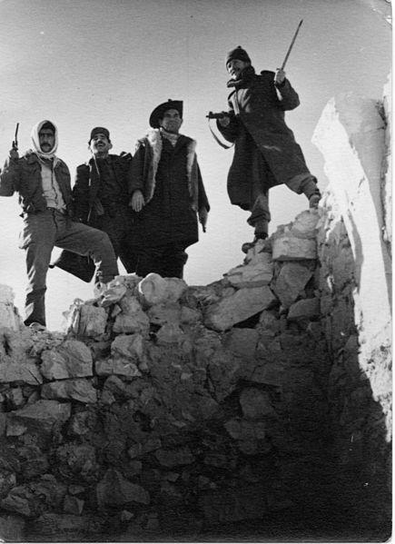 מבצע חורב - לוחמים חונים באזור עוג'ה אל חפיר