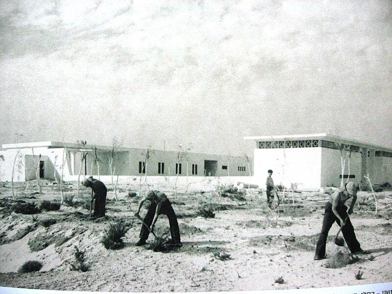 בית חנה סנש, 1950