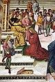 Pinturicchio, liberia piccolomini, 1502-07 circa, Enea Silvio incoronato poeta dall'imperatore Federico III 04.JPG