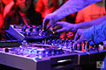 Pioneer DJ equipment - angled left 2 - Expomusic 2014.jpg