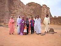 Piramidoj en Meroe (Sudano) 006