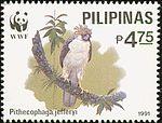 Pithecophaga jefferyi 1991 stamp of the Philippines 2.jpg