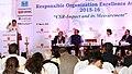 Piyush Goyal addressing at the 8th Global CSR Summit cum Responsible Organisation Excellence Awards 2015-16 presentation function, in New Delhi.jpg