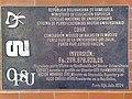 Placa en el módulo D, LUZ - Núcleo Punto Fijo.JPG