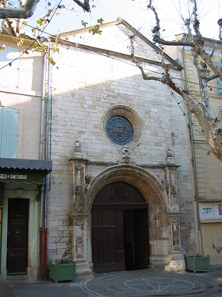 L'Eglise Notre-Dame de Romigier, Place de l'Hotel de Ville, Manosque, Provence, France