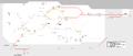Plan des Trains, Trams et du Metro Casablanca, horizon 2030.png