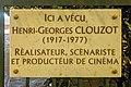 Plaque au 7 avenue des chasseurs en mémoire de Henri-Georges Clouzot.jpg