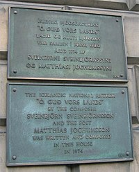 Plaque outside 15 London Street, Edinburgh, Scotland 2005-02-18.jpg