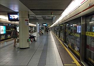Caobao Road station Shanghai Metro interchange station