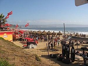Strand von Reñaca (Viña del Mar/Chile)