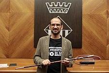 Ple extraordinari de presa de possessió de l'alcalde Maties Serracant - 36008615262.jpg