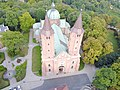 Plock Cathedral aerial photograph 2019 P02.jpg