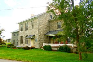 Potter Township, Centre County, Pennsylvania - Image: Plum Grove Manor 534 Manor Rd Centre Hall PA