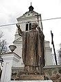 Podlaskie - Juchnowiec Kościelny - Juchnowiec Kościelny - Kościół - Pomnik JPII.JPG
