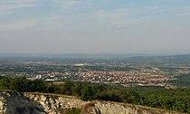 Pogled na Batočinu sa Straževice.jpg