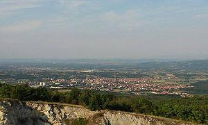 Batočina - Image: Pogled na Batočinu sa Straževice