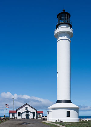 Point Arena, California - The Point Arena Lighthouse