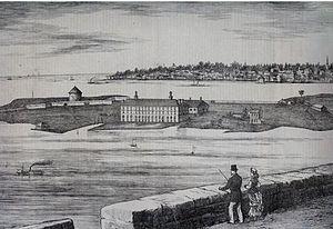Point Frederick (Kingston, Ontario) - Point Frederick c 1874