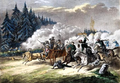 Polish insurgents attacking Russian transport 1863.PNG