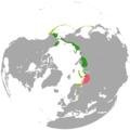 Polysticta stelleri range map.png