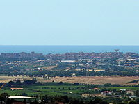 Pomezia panorama dai Castelli Romani.jpg