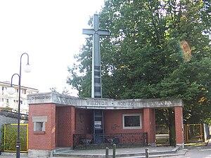 Rembertów - Image: Pomnik ofiar NKWD Rembertow