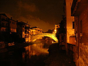 Ponte San Michele upon Retrone, in Vicenza