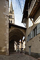 Porche de l'église Notre-Dame-d'Aquilon, Guillestre, France.jpg