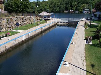 "Port Carling - Port Carling ""main"" locks, 2006"