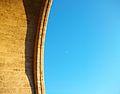 Porta de Serrans, arc i lluna.JPG