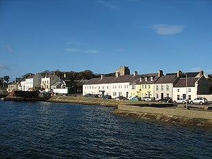 Portaferry from the pier towards the north