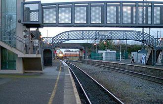 Portarlington, County Laois - Portarlington train station
