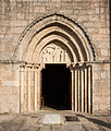 Portic of Saint Mary Church in Iria Flavia, Padrón, Galicia, Spain.jpg